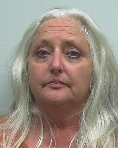Vicki Lynn Peden - Police say she was found with over 1,000 pot plants.